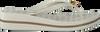 Weiße MICHAEL KORS Zehentrenner BEDFORD FLIP FLOP - small