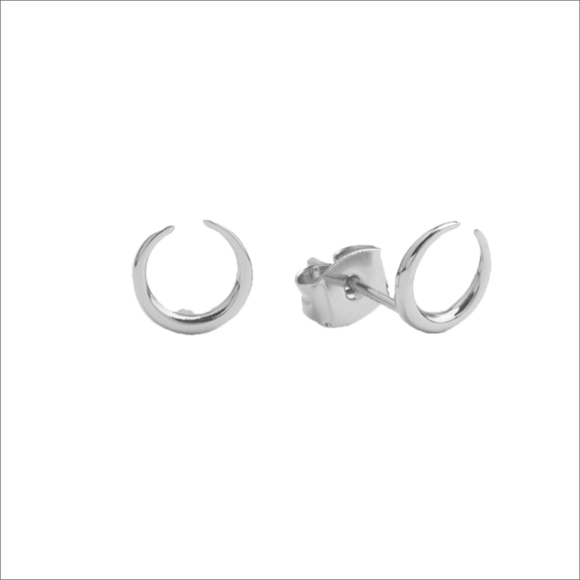 Silberne ALLTHELUCKINTHEWORLD Ohrringe PARADE EARRINGS HORN - large