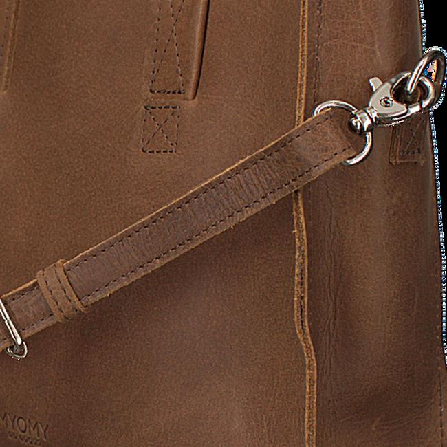 Braune MYOMY Handtasche MINI HANDBAG CROSS-BODY - large
