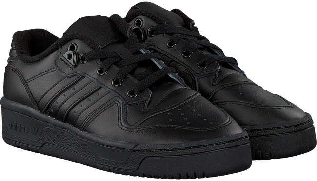 Schwarze ADIDAS Sneaker RIVALRY LOW J  - large