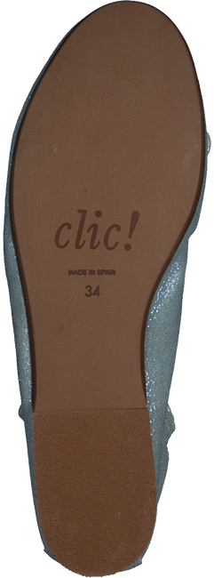 Blaue CLIC! Ballerinas 7290 - large