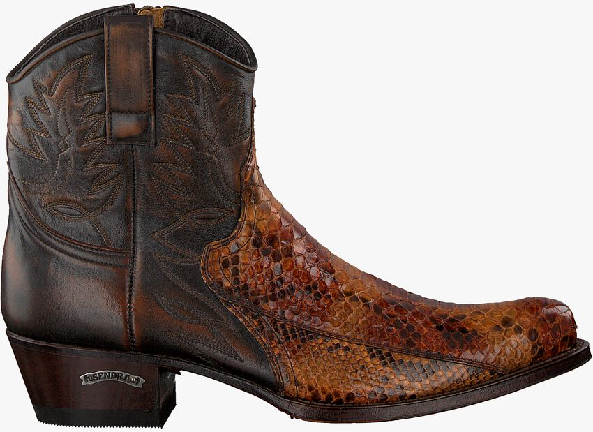 Cognacfarbene SENDRA Cowboystiefel 9496  - larger