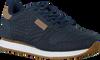 Blaue WODEN Sneaker low YDUN CROCO  - small