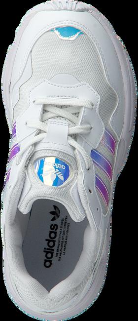 Weiße ADIDAS Sneaker YUNG-96 J  - large