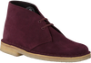 Rote CLARKS Schnürboots DESERT BOOT DAMES - small