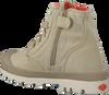 Beige PALLADIUM Ankle Boots PAMPA HI KIDS - small