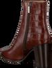 Cognacfarbene NOTRE-V Stiefeletten 166/02  - small