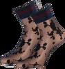Schwarze MARCMARCS Socken FLOWER LUREX CUFF - small