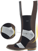 Schwarze ZOOFF Socken SKIM - small