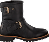 Schwarze PANAMA JACK Biker Boots FELINA IGLOO TRAVELLING B3 - small