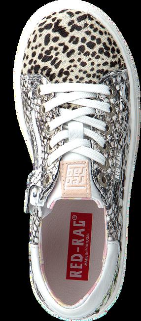 Weiße RED-RAG Sneaker low 12250  - large