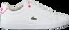 Weiße LACOSTE Sneaker CARNABY EVO BL  - small