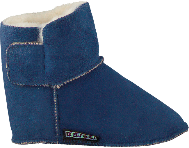 Blaue BERGSTEIN Babyschuhe TEDDY - large