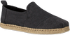 Schwarze TOMS Espadrilles DECONSTRUTED ALPARGATA ROPE M - small