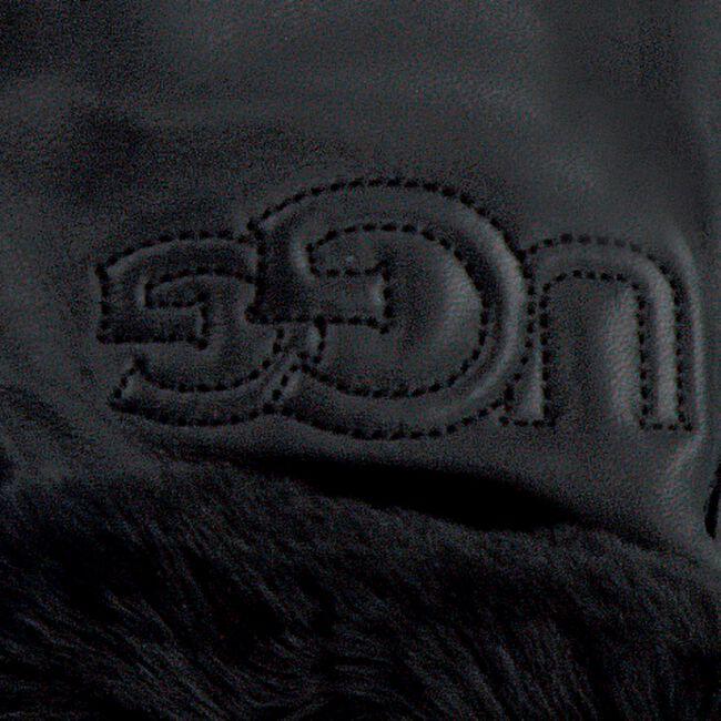 Schwarze UGG Handschuhe CLASSIC LOGO GLOVE  - large