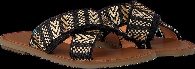 Schwarze TOMS Pantolette VIV 10013305  - large