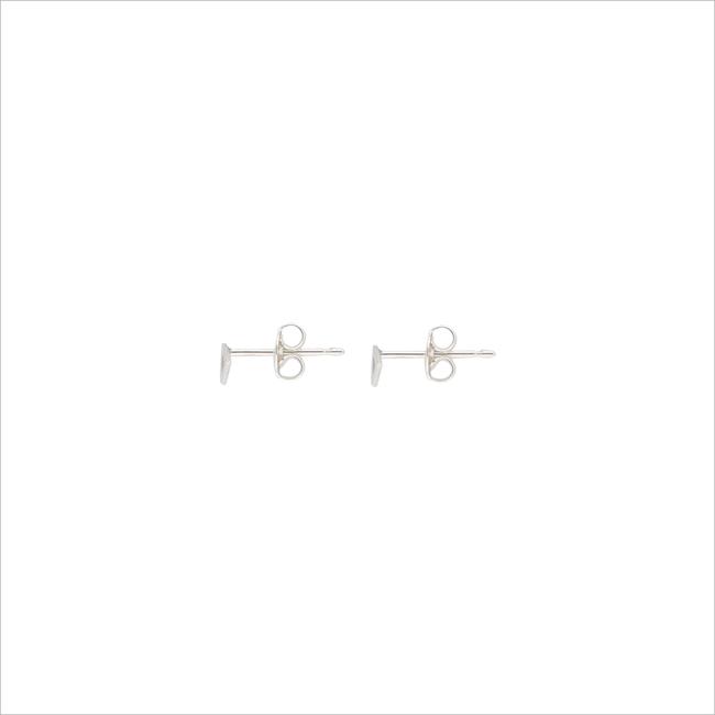 Silberne ALLTHELUCKINTHEWORLD Ohrringe PETITE EARRINGS TRIANGLE - large