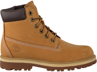 Camelfarbene TIMBERLAND Schnürboots COURMA KID TRADITIONAL 6 INCH  - medium