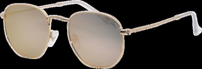 Goldfarbene IKKI Sonnenbrille LA PORTE - large