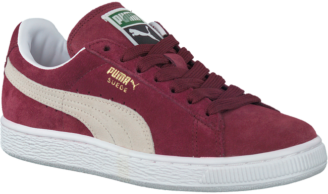 Rote PUMA Sneaker SUEDE CLASSIC+ DAMES - large