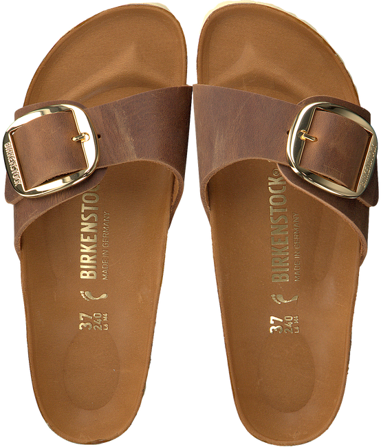 cognac BIRKENSTOCK PAPILLIO shoe MADRID BIG BUCKLE  - large
