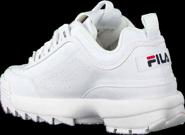 Weiße FILA Sneaker low DISRUPTOR KIDS  - large