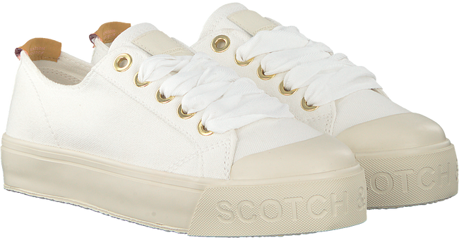 Weiße SCOTCH & SODA Sneaker SYLVIE  - large
