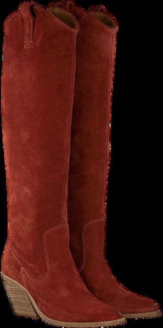 Braune BRONX Hohe Stiefel LOW-KOLE 14188  - large