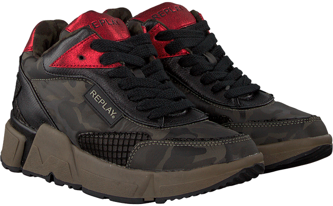 Grüne REPLAY Sneaker RS950007S SPARTA - large