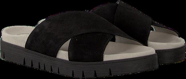 Schwarze GABOR Pantolette 741 - large