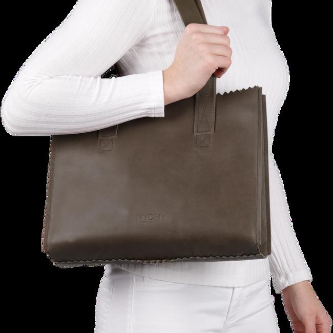 Taupe MYOMY Handtasche CARRY HANDBAG - large