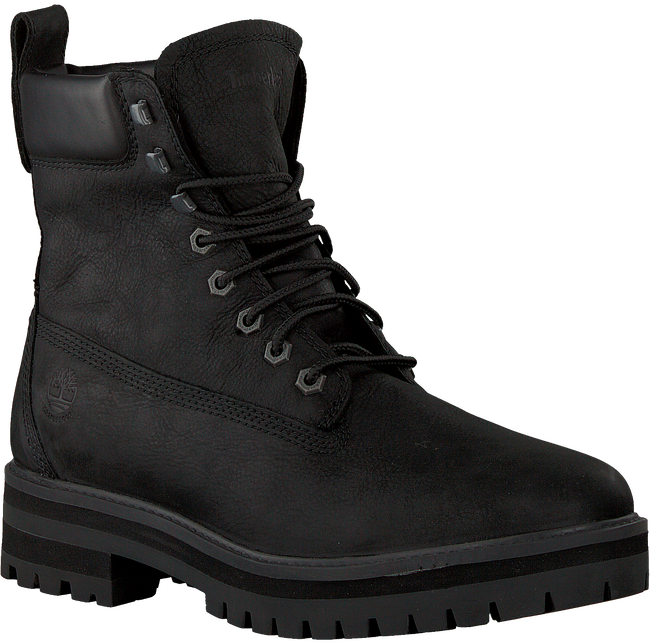 Schwarze TIMBERLAND Schnürboots COURMA GUY BOOT WP  - large