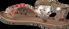 Goldfarbene GIOSEPPO Sandalen BEDUINA - small