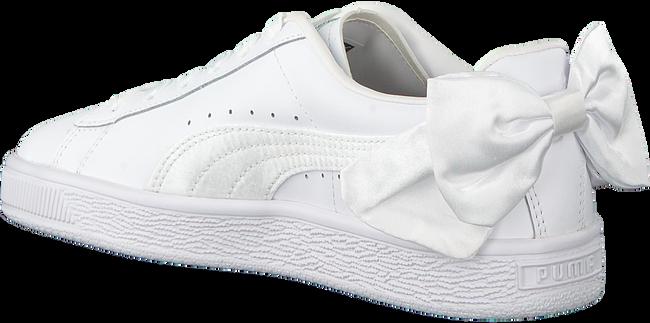 witte PUMA Sneakers BASKET BOW JR  - large