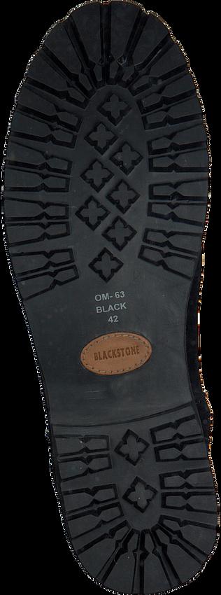 Schwarze BLACKSTONE Ankle Boots OM63 - larger