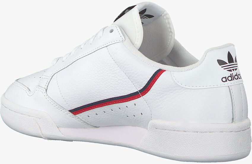 Weiße ADIDAS Sneaker CONTINENTAL 80  - larger