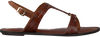Cognacfarbene GANT Sandalen BEECHUM  - small
