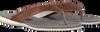 Cognacfarbene FLORIS VAN BOMMEL Zehentrenner 20022 - small