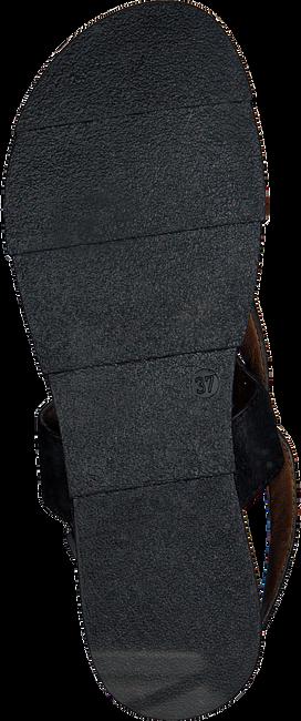 Schwarze OMODA Sandalen 740091  - large