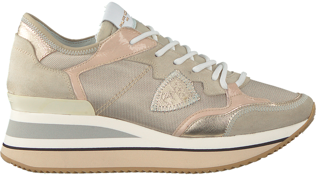Goldfarbene PHILIPPE MODEL Sneaker low TRIOMPHE L D  - large