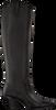 Schwarze BRONX Hohe Stiefel LOW-KOLE 14188  - small