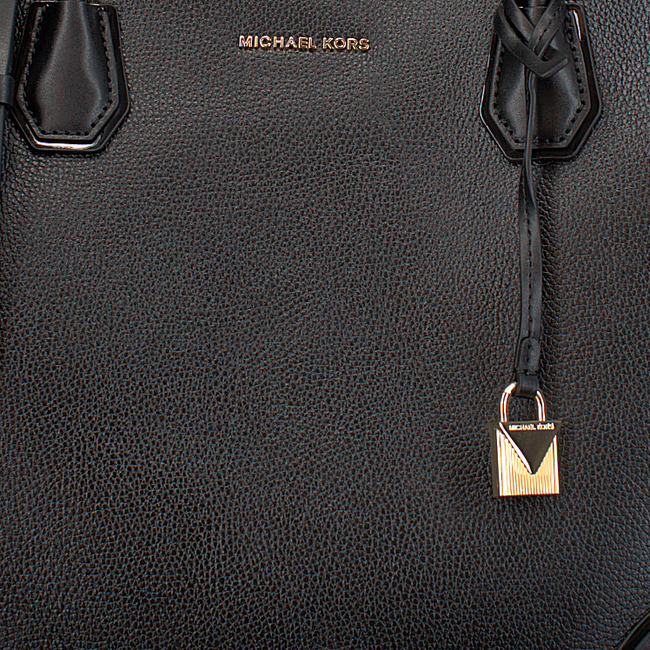 Schwarze MICHAEL KORS Handtasche LG CENTER ZIP TOTE - large