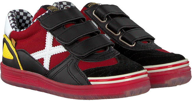 Rote MUNICH Sneaker low G3 VELCRO  - large