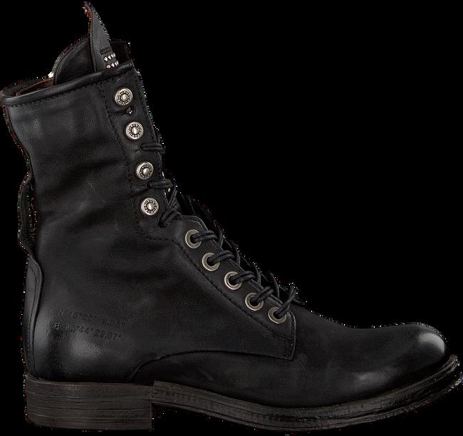 Schwarze A.S.98 Biker Boots 207245 101 6002 SOLE VERTI - large