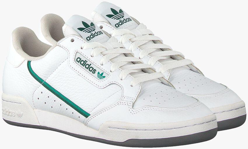 Weiße ADIDAS Sneaker CONTINENTAL 80 MEN  - larger