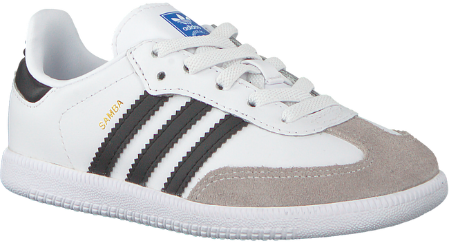 Weiße ADIDAS Sneaker SAMBA OG EL I - large