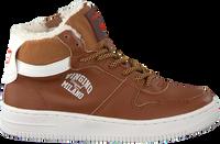 Cognacfarbene VINGINO Sneaker ELIA MID  - medium