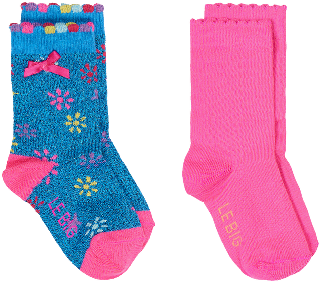 Blaue LE BIG Socken NILA SOCK 2 PACK  - large