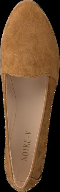 Cognacfarbene NOTRE-V Loafer 43576  - large