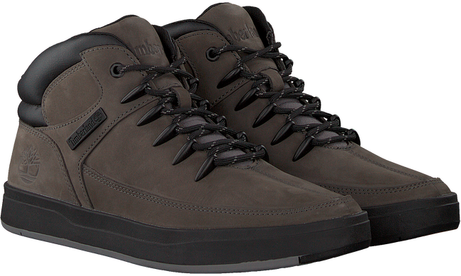 Graue TIMBERLAND Sneaker DAVIS SQUARE HIKER  - large